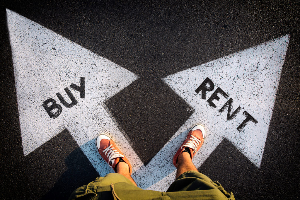No fixed address: New tool to help make toughest financial decision — rent or buy? | DIY Investor Resources