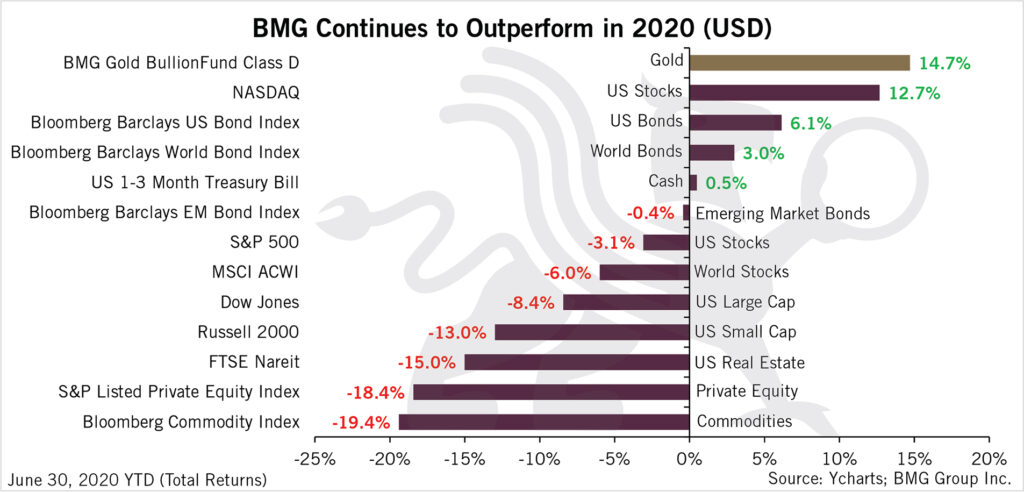 BMG Contunes to Outperform in 2020 | BMG DIY Investor